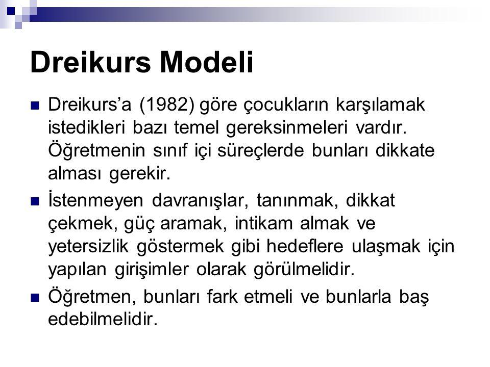 Dreikurs Modeli