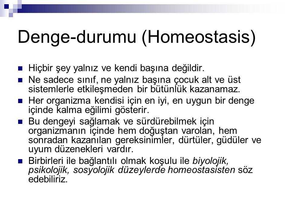 Denge-durumu (Homeostasis)