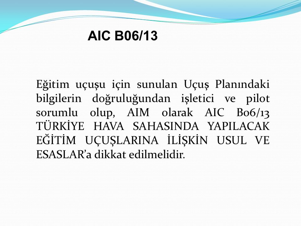 AIC B06/13