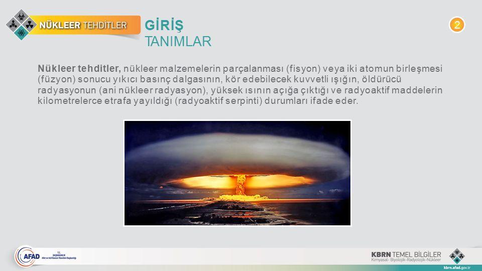 GİRİŞ TANIMLAR. 2.