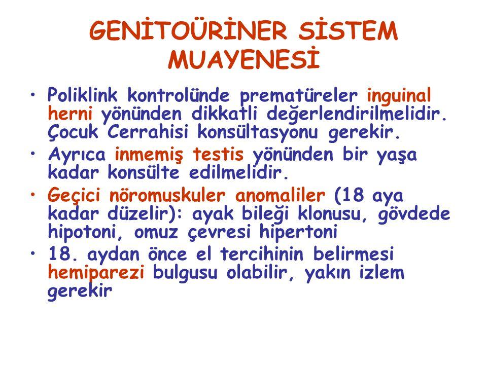 GENİTOÜRİNER SİSTEM MUAYENESİ
