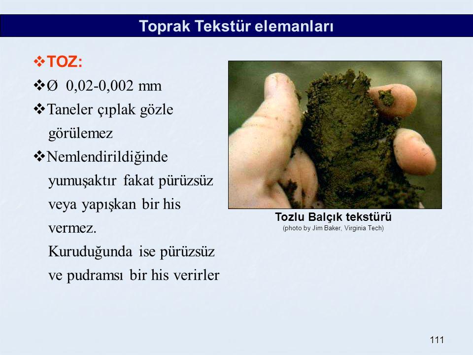 Toprak Tekstür elemanları