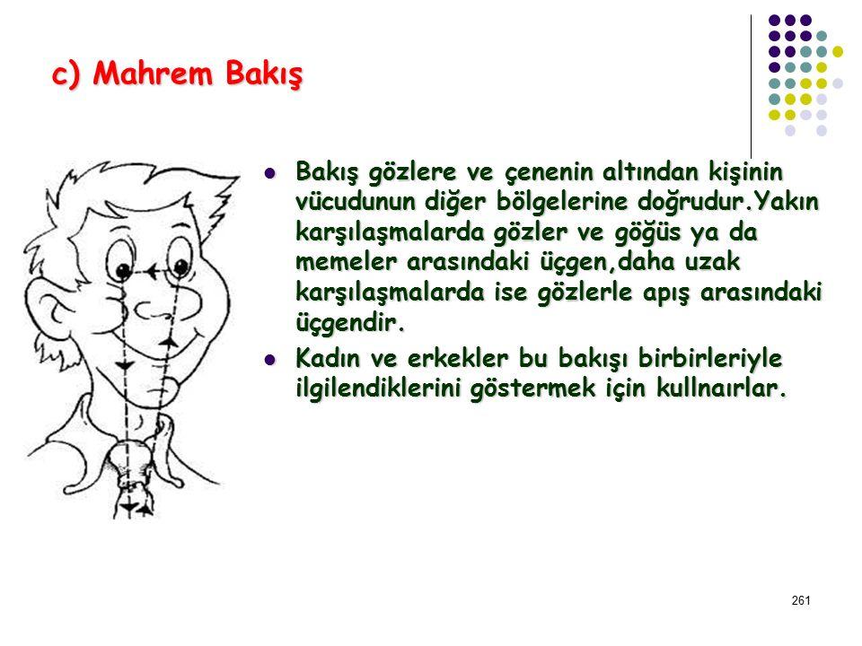 c) Mahrem Bakış