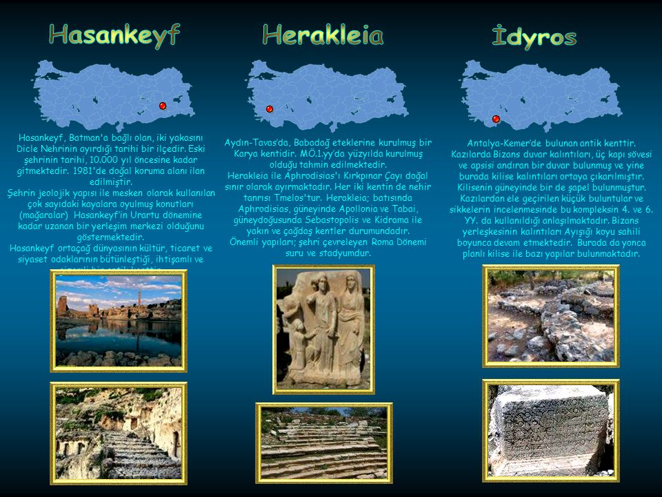 Hasankeyf Herakleia İdyros