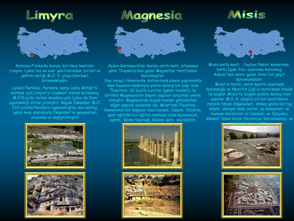 Limyra Magnesia. Misis.