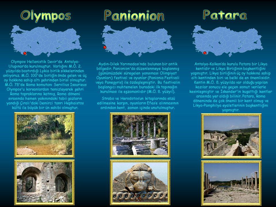 Olympos Panionion Patara