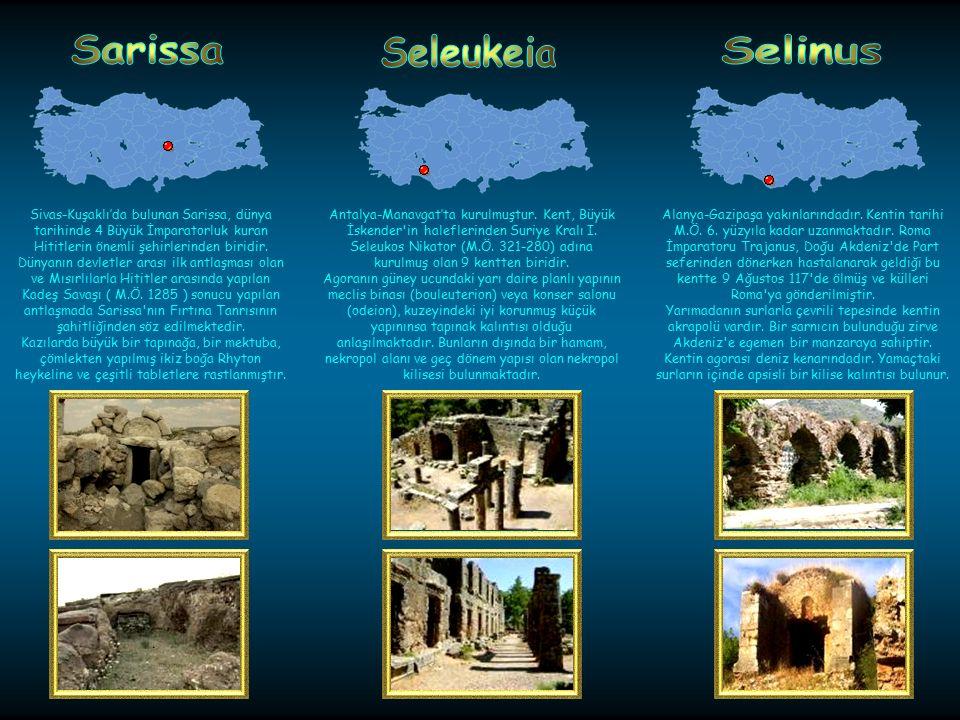 Sarissa Seleukeia Selinus