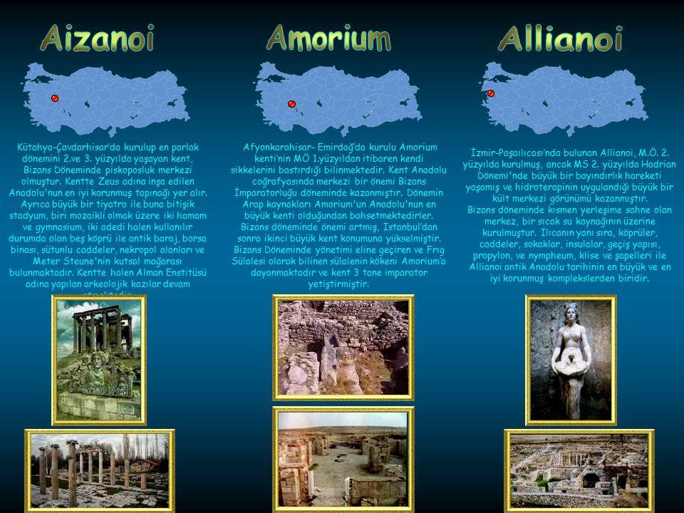 Aizanoi Amorium Allianoi