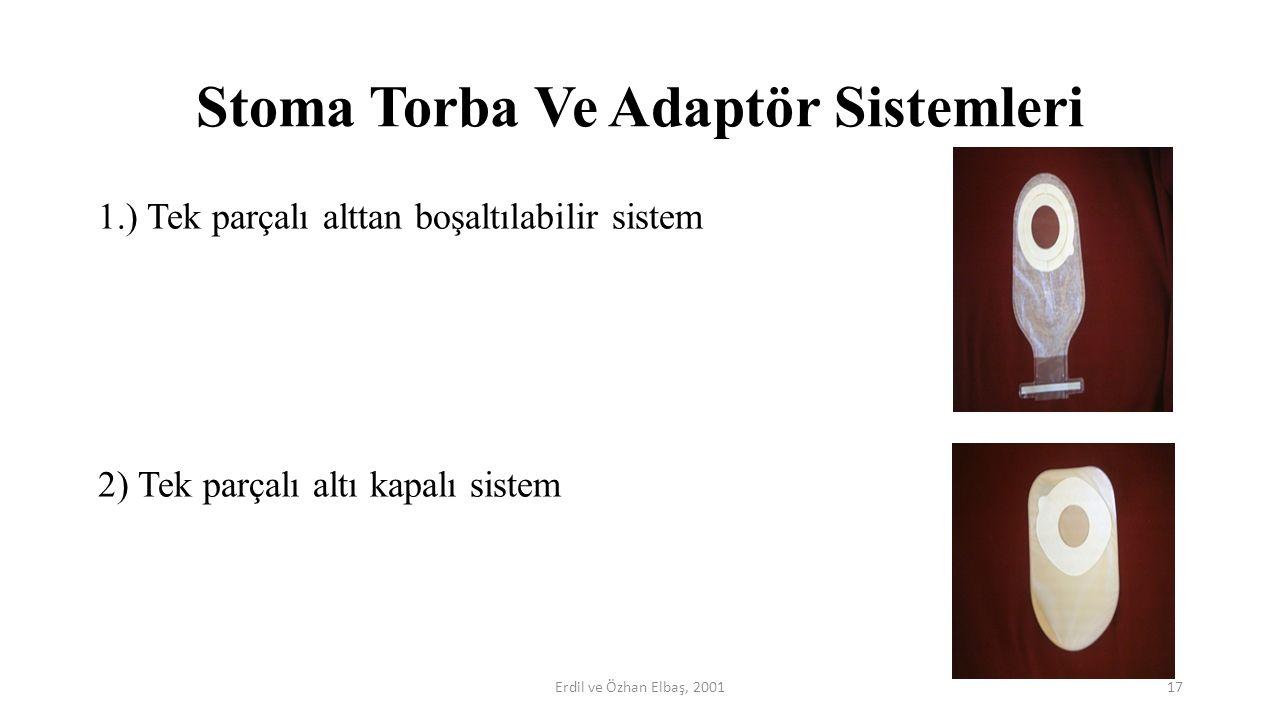 Stoma Torba Ve Adaptör Sistemleri