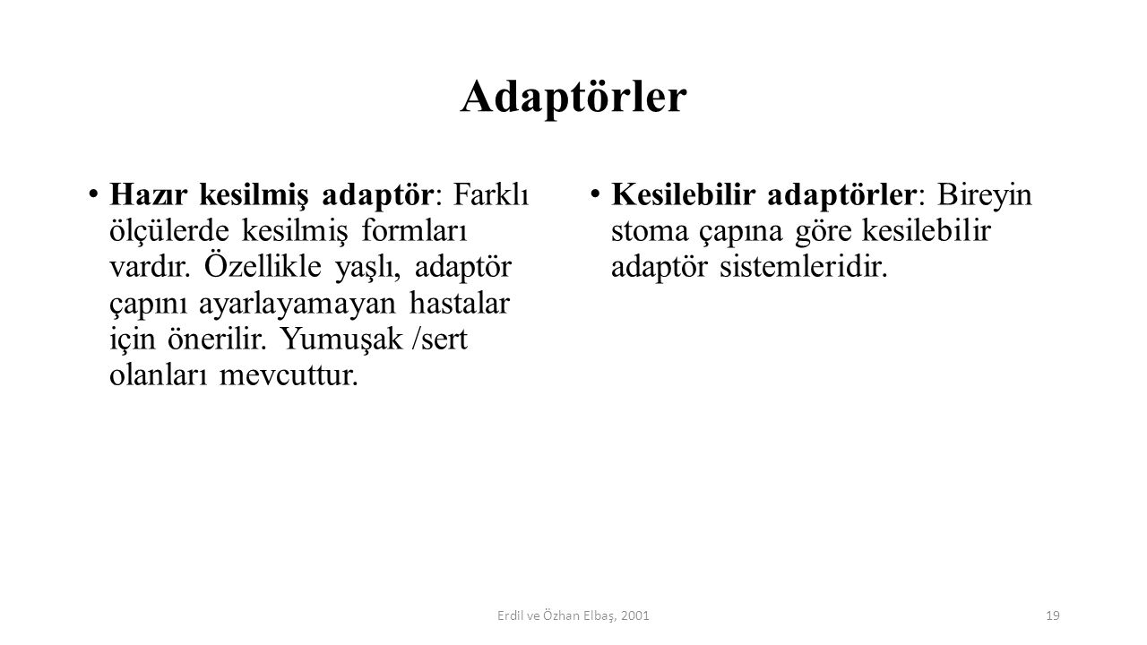 Adaptörler