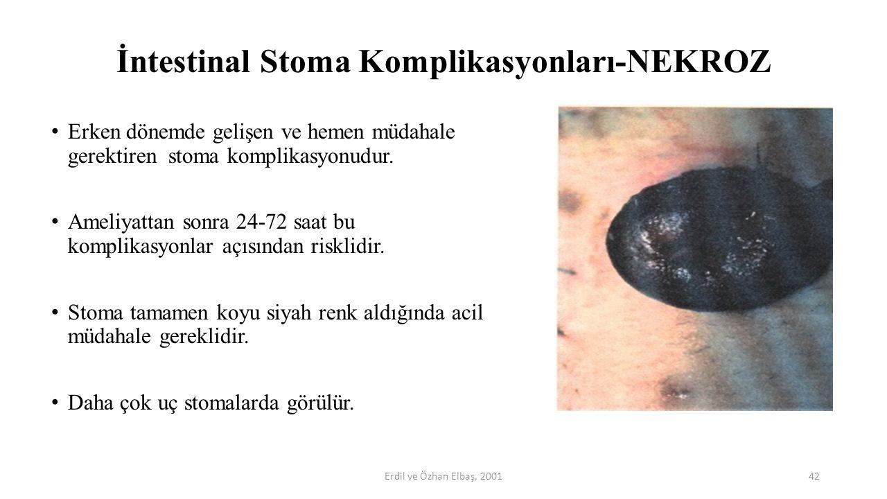 İntestinal Stoma Komplikasyonları-NEKROZ