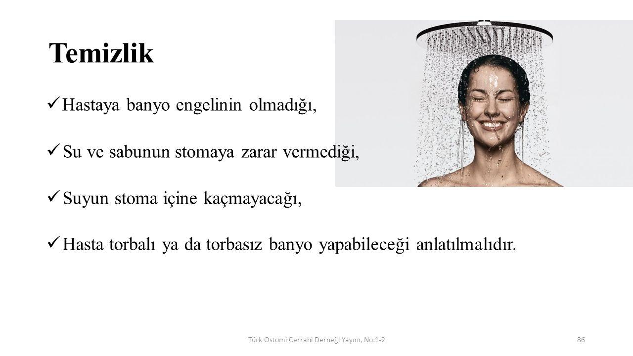 Türk Ostomi Cerrahi Derneği Yayını, No:1-2