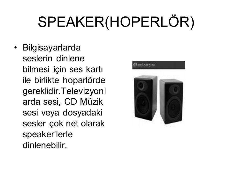 SPEAKER(HOPERLÖR)