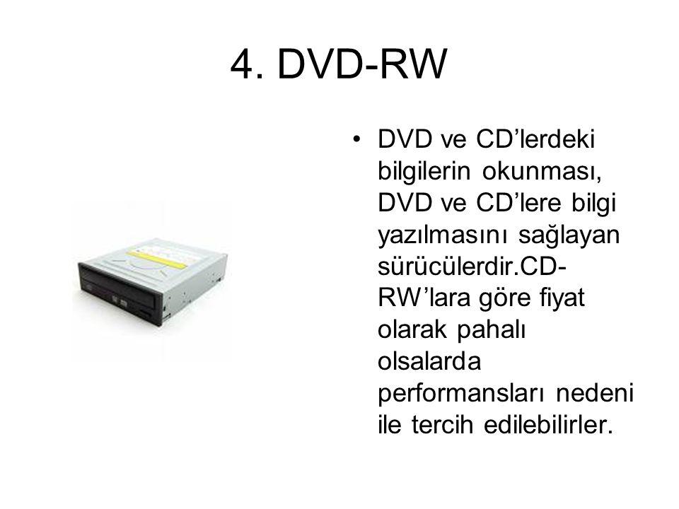 4. DVD-RW