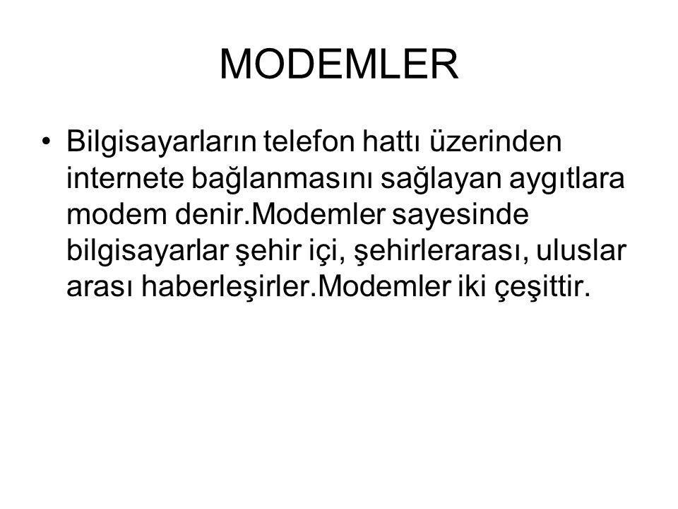 MODEMLER
