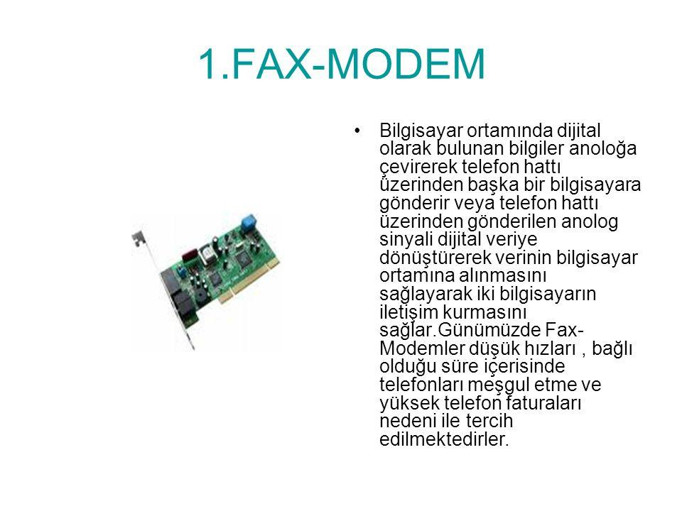 1.FAX-MODEM