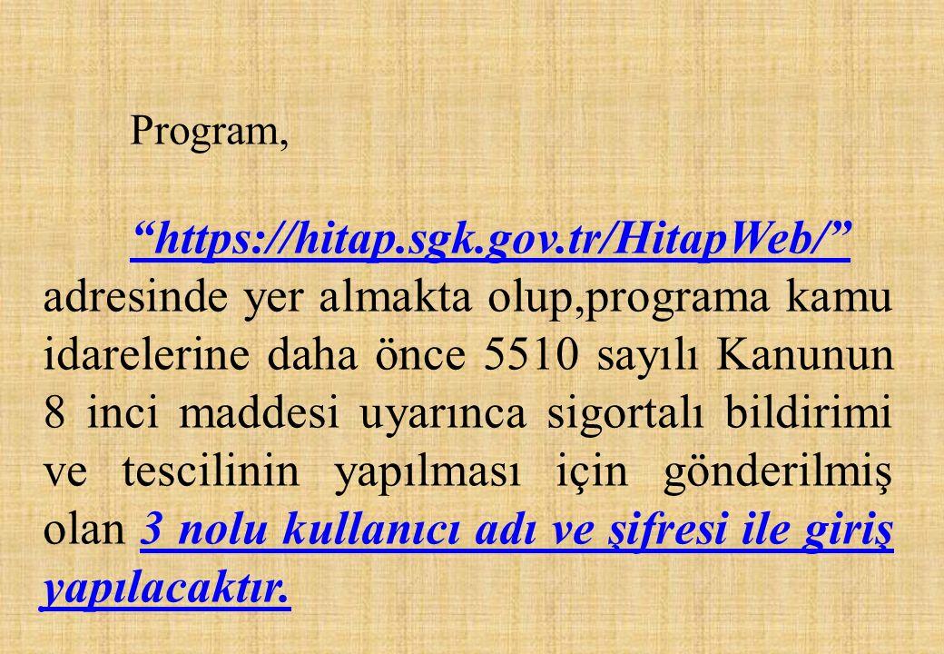 Program,