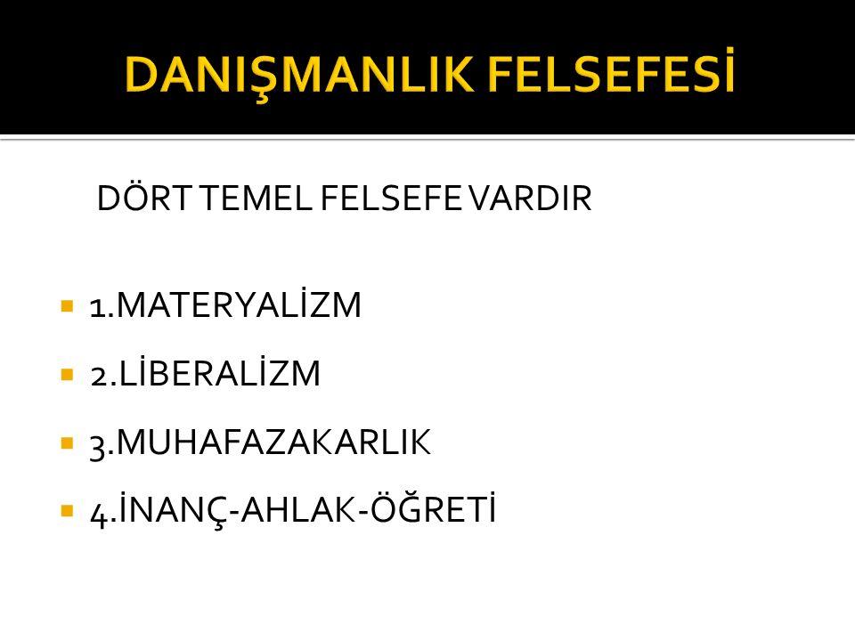 DANIŞMANLIK FELSEFESİ
