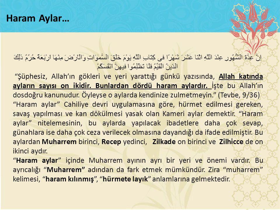 Haram Aylar…