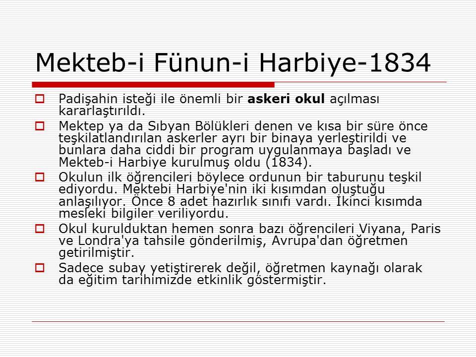 Mekteb-i Fünun-i Harbiye-1834