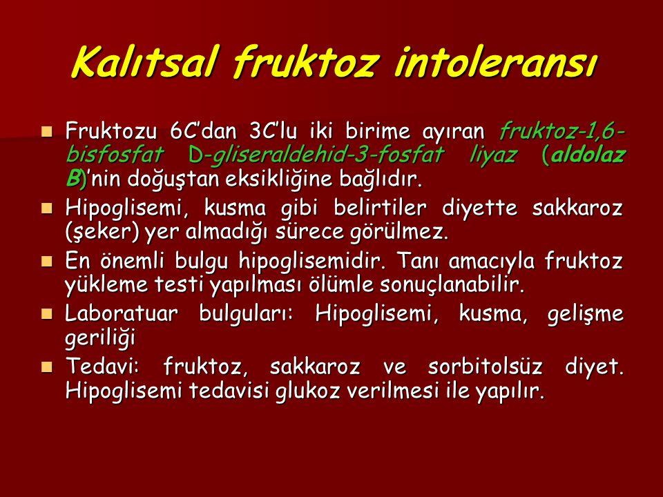 Kalıtsal fruktoz intoleransı