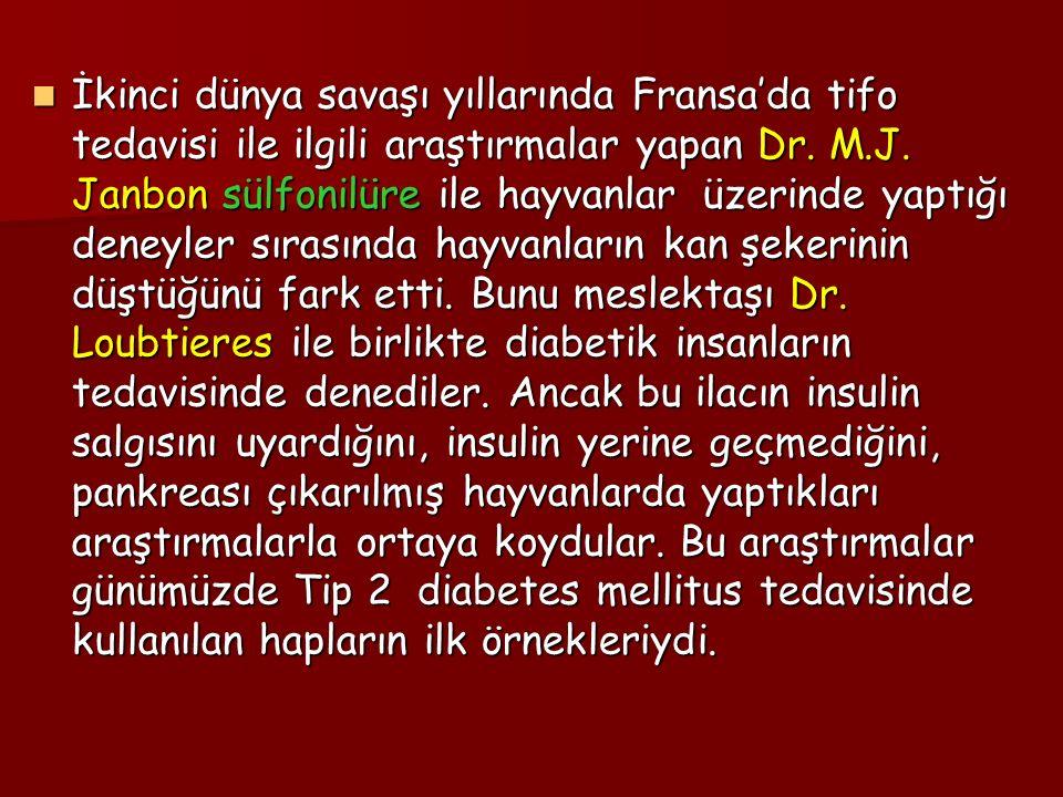 İkinci dünya savaşı yıllarında Fransa'da tifo tedavisi ile ilgili araştırmalar yapan Dr.