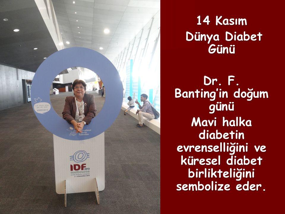 Dr. F. Banting'in doğum günü