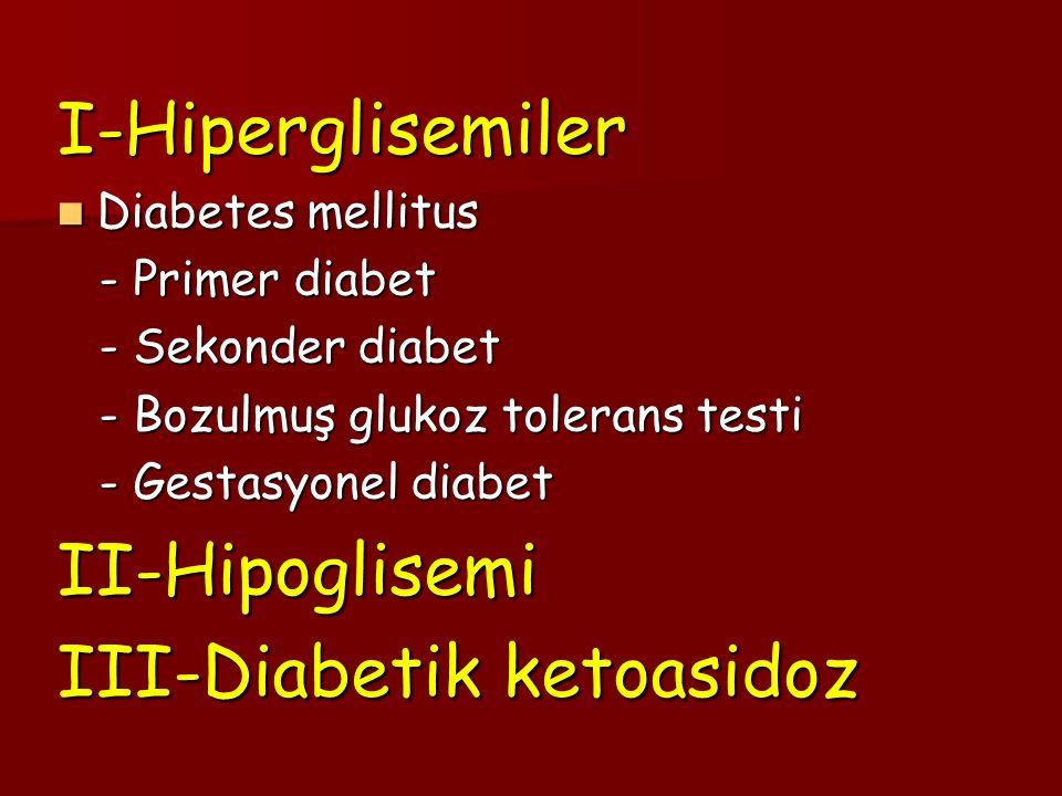 III-Diabetik ketoasidoz