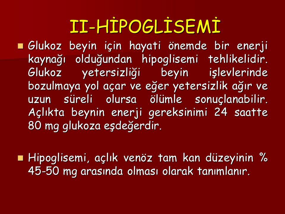 II-HİPOGLİSEMİ
