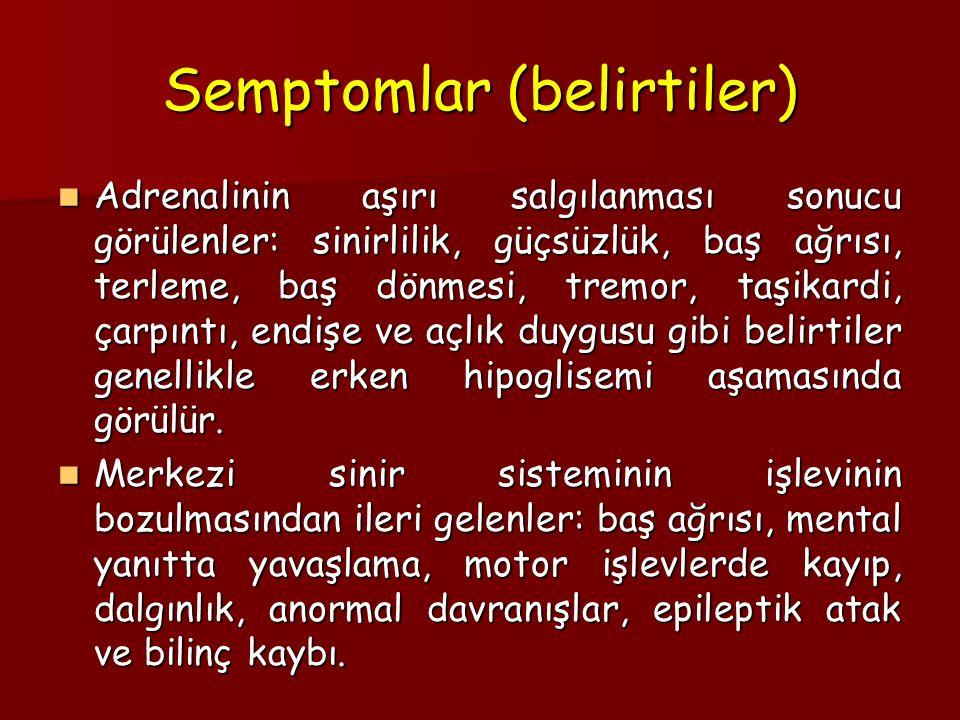 Semptomlar (belirtiler)