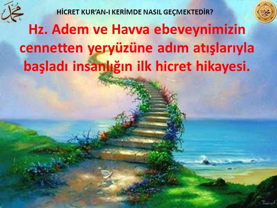 HİCRET KUR'AN-I KERİMDE NASIL GEÇMEKTEDİR