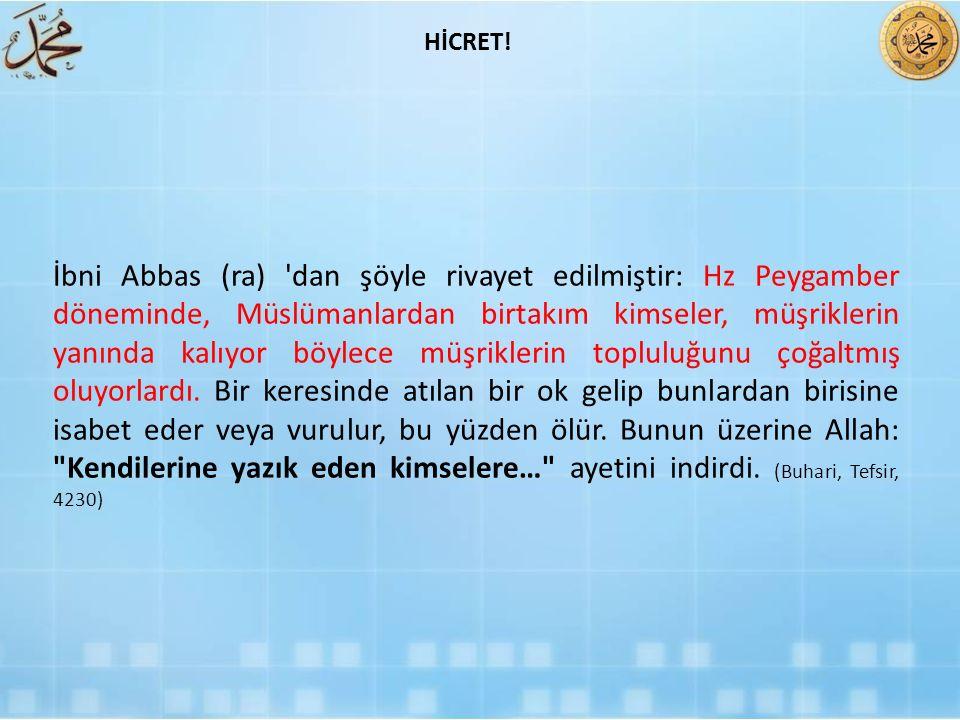 HİCRET!
