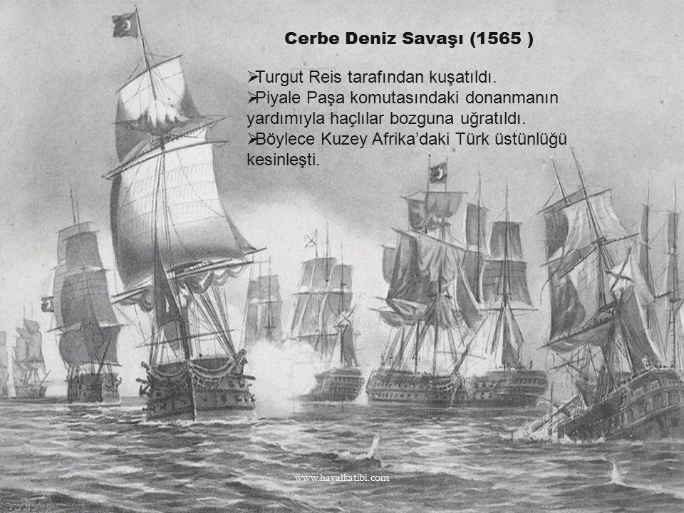 Turgut Reis tarafından kuşatıldı.