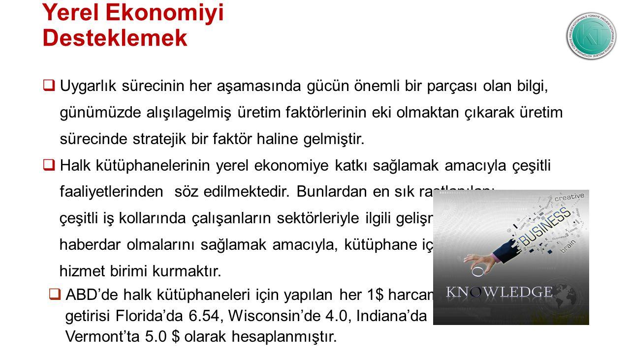 Yerel Ekonomiyi Desteklemek