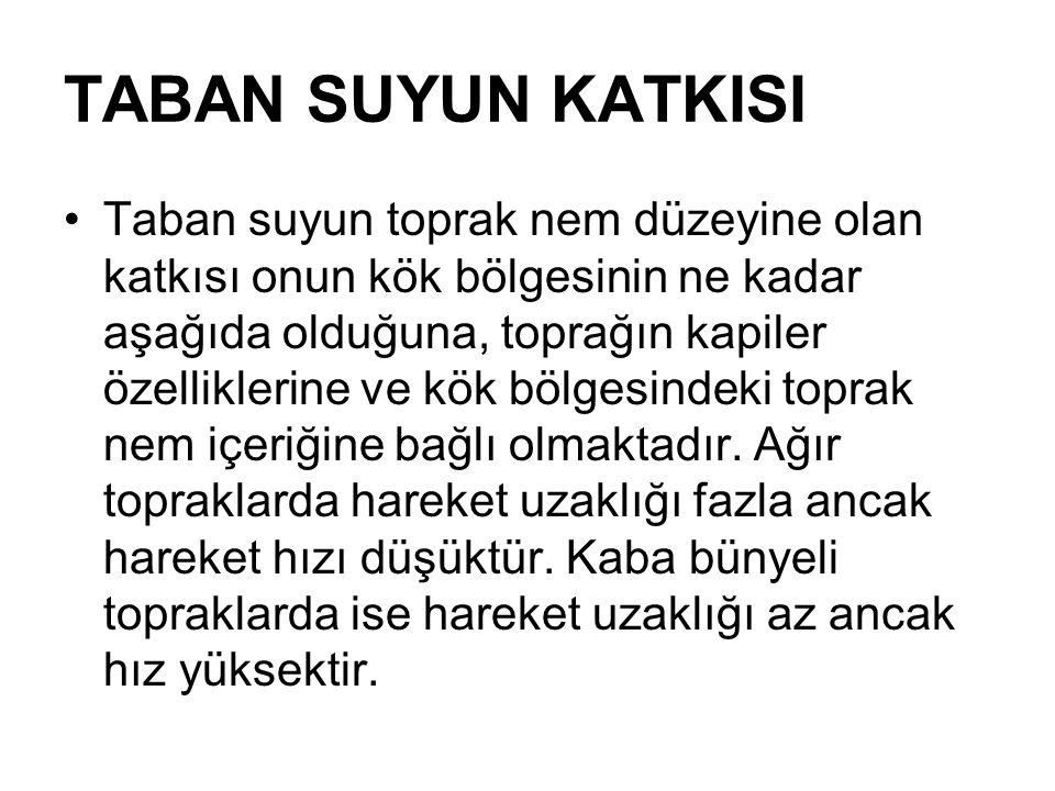 TABAN SUYUN KATKISI