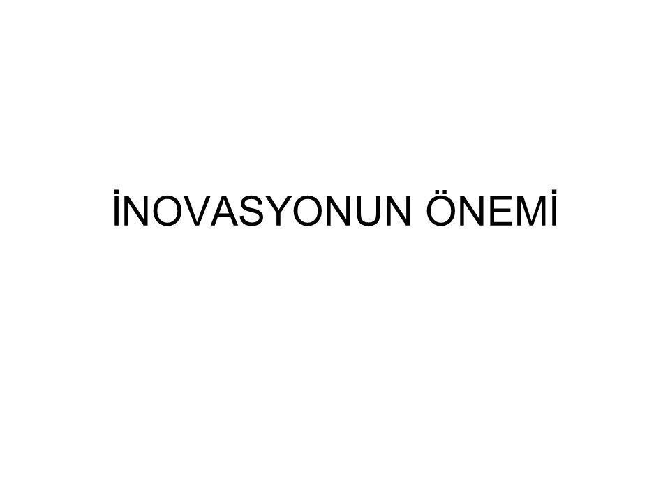 İNOVASYONUN ÖNEMİ