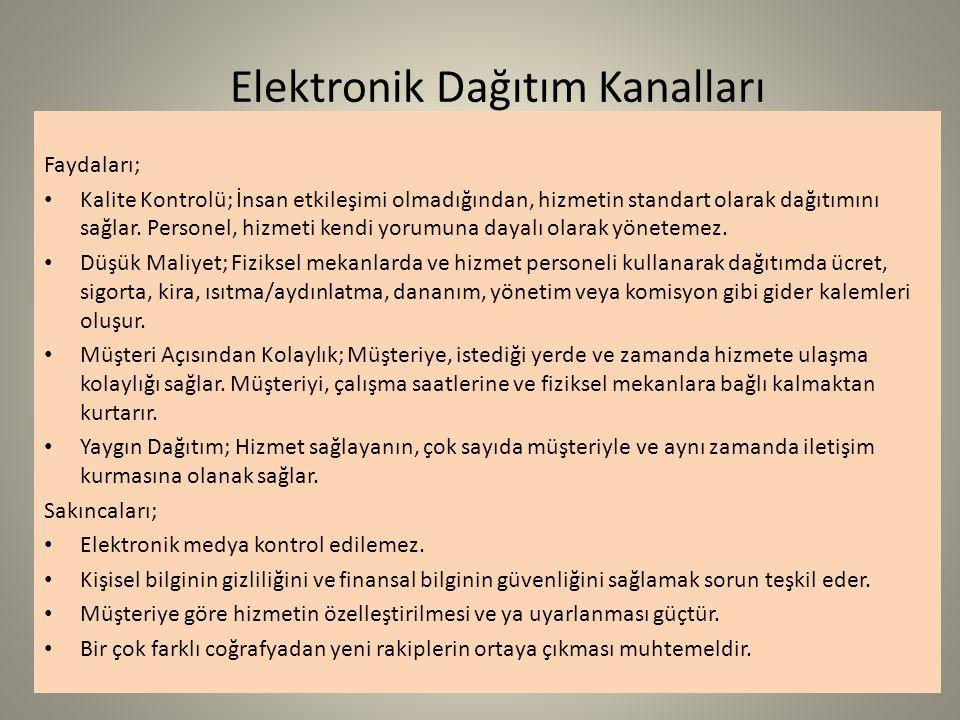 Elektronik Dağıtım Kanalları