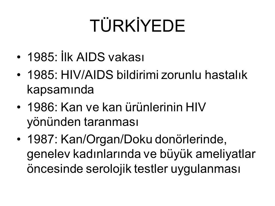 TÜRKİYEDE 1985: İlk AIDS vakası