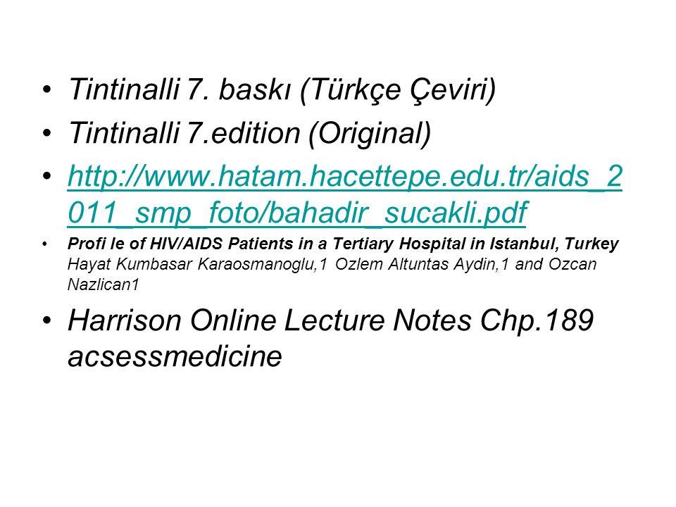 Tintinalli 7. baskı (Türkçe Çeviri) Tintinalli 7.edition (Original)