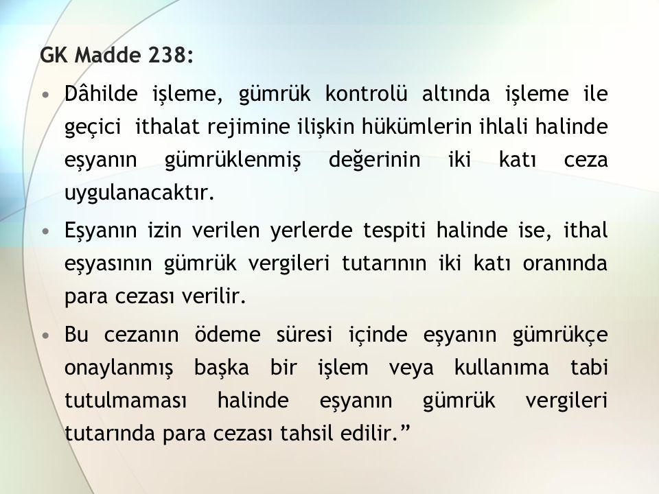 GK Madde 238: