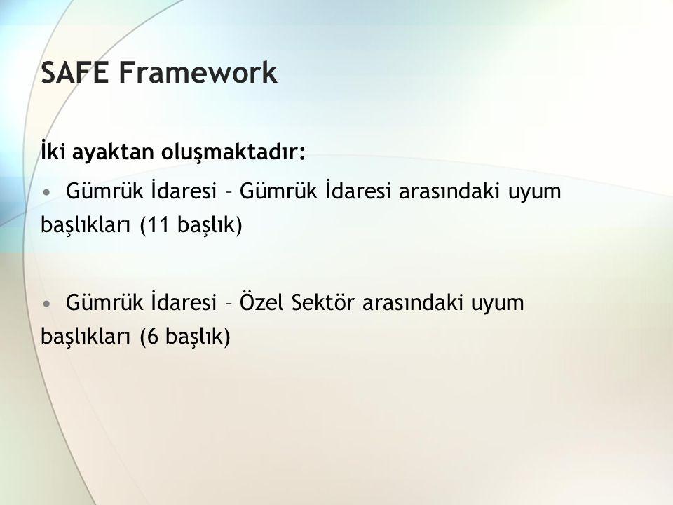 SAFE Framework İki ayaktan oluşmaktadır: