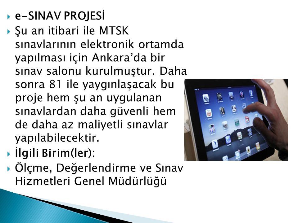 e-SINAV PROJESİ
