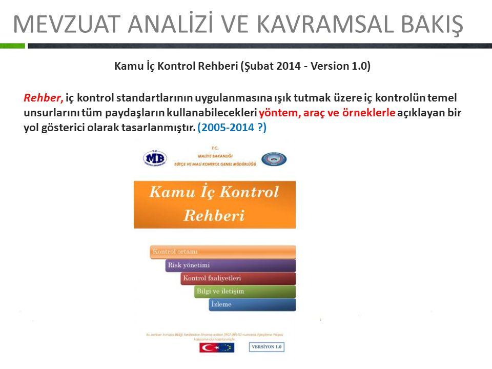 Kamu İç Kontrol Rehberi (Şubat 2014 - Version 1.0)