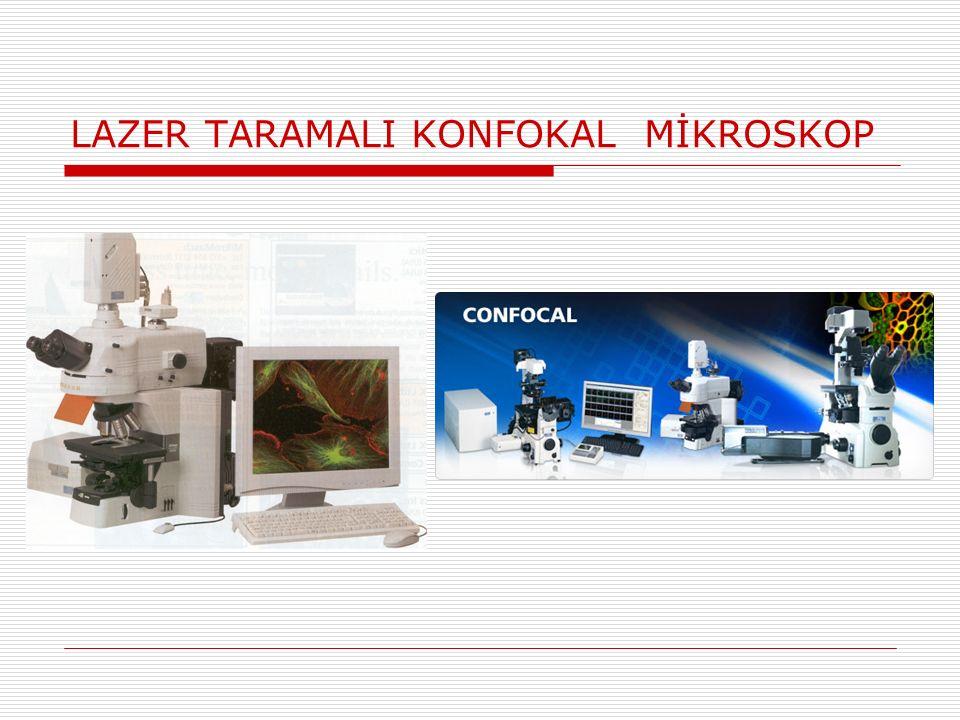 LAZER TARAMALI KONFOKAL MİKROSKOP