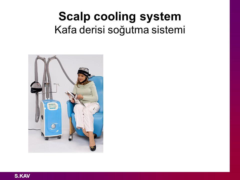 Scalp cooling system Kafa derisi soğutma sistemi
