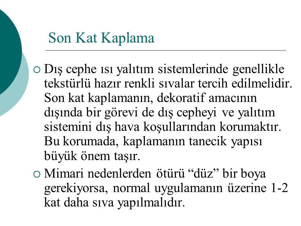 Son Kat Kaplama