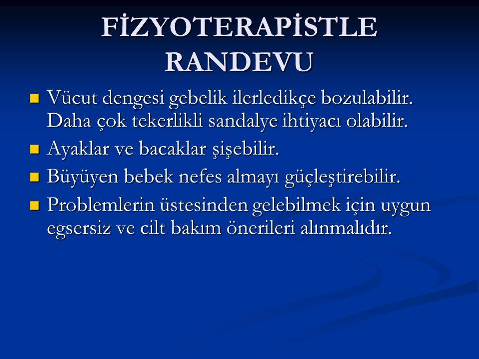 FİZYOTERAPİSTLE RANDEVU