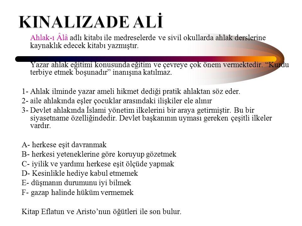 KINALIZADE ALİ