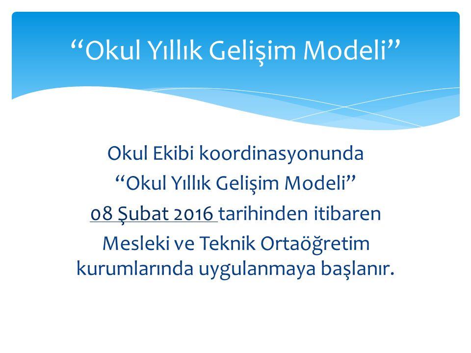 Okul Yıllık Gelişim Modeli