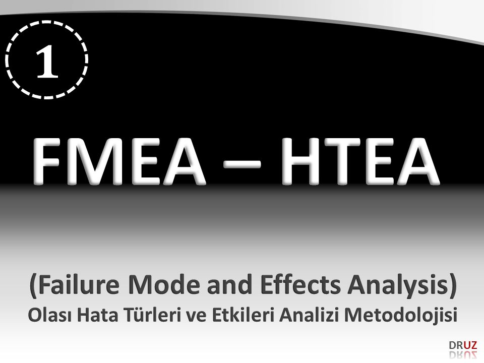 FMEA – HTEA 1 (Failure Mode and Effects Analysis)